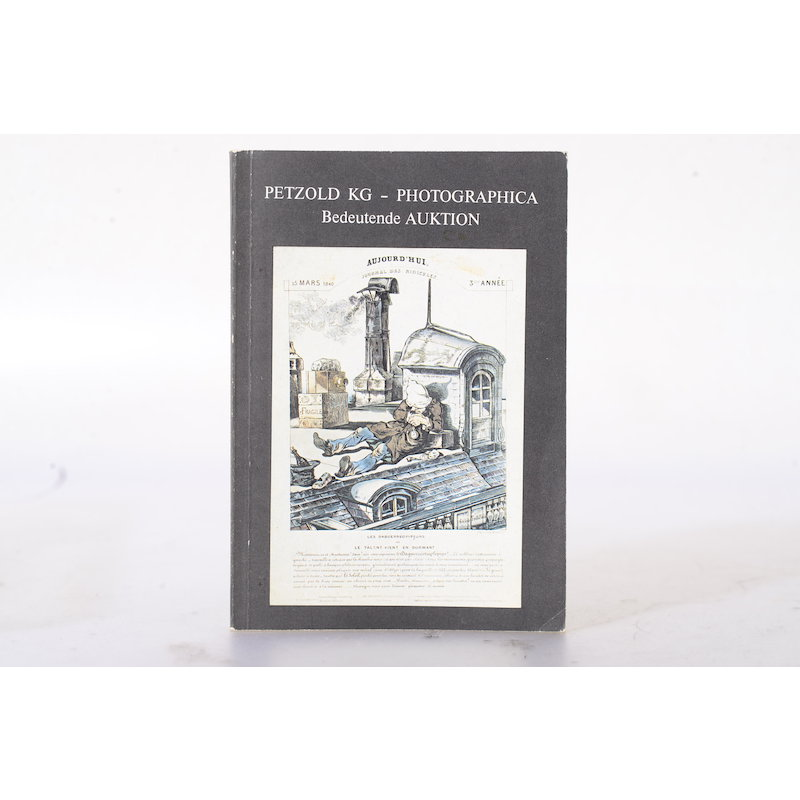 Petzold KG Photographica Bedeutende Auktionen 15./16. DEZ. 1978