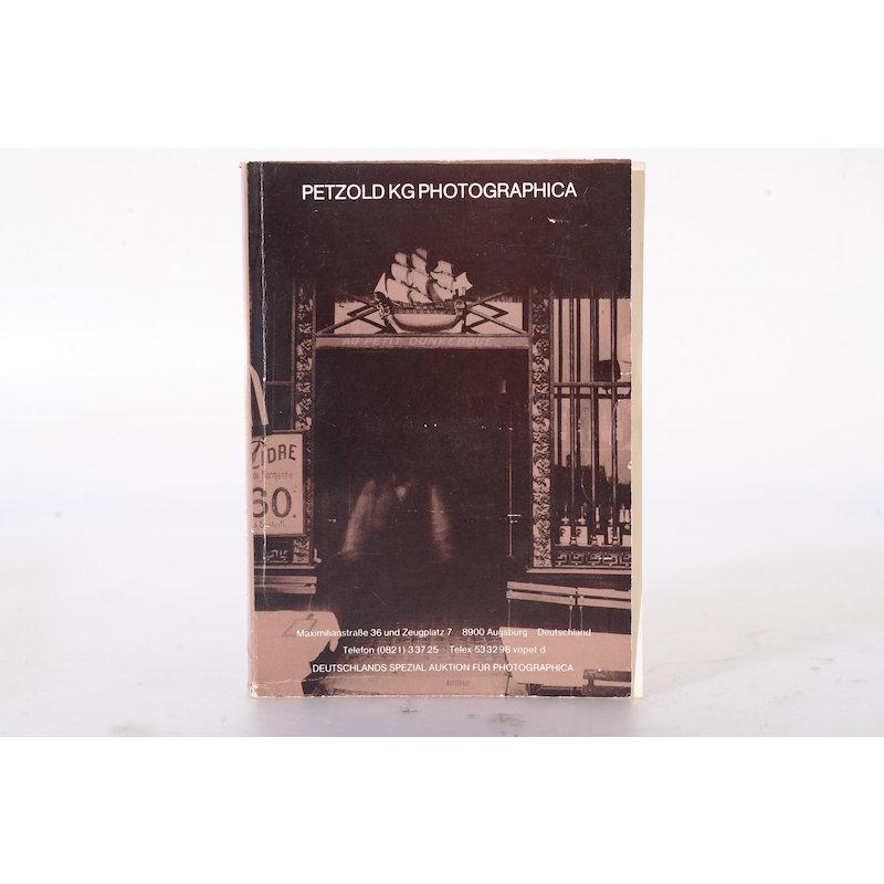 Petzold KG Photographica Auktion 22./23. Mai 1981