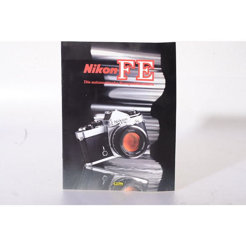 Nikon Prospekt FE Die automatische Kompaktkamera