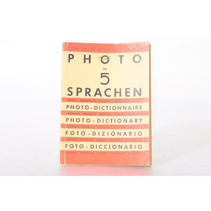 Knapp Photo in 5 Sprachen (P. Hugo Kaspar)