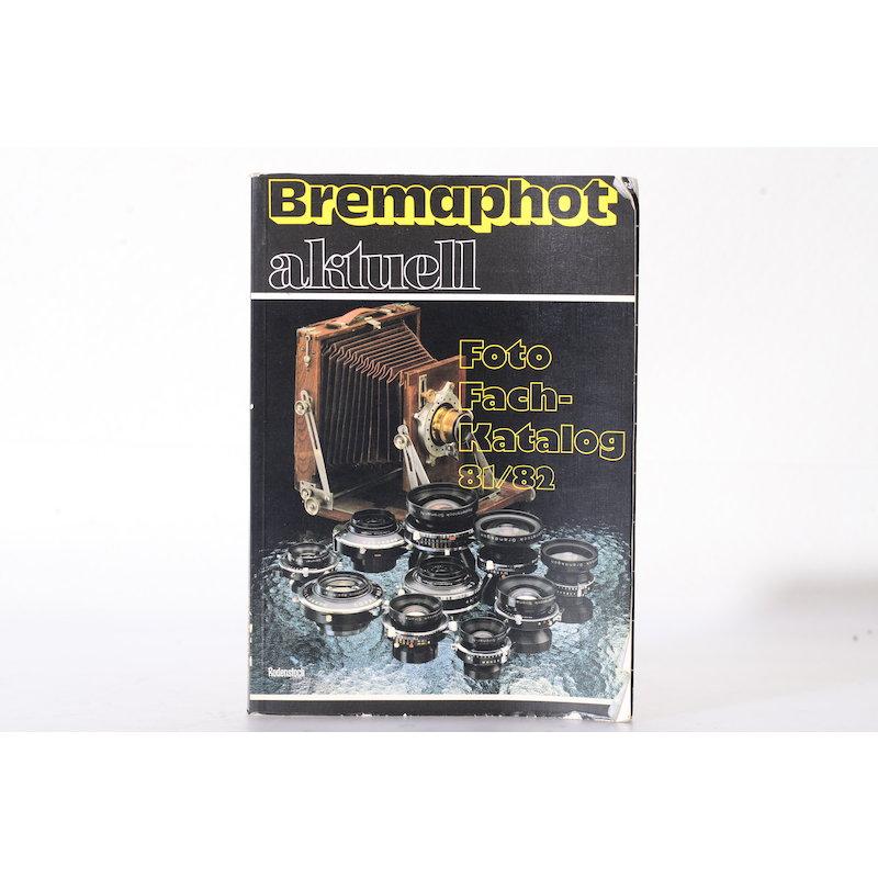 Rodenstock Bremaphot Aktuell Foto Fach-Katalog 81/82
