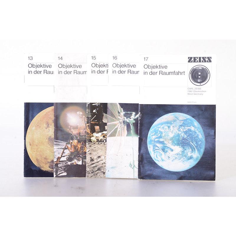 Zeiss-Ikon Prospekte Objektive in der Raumfahrt Band 13-17