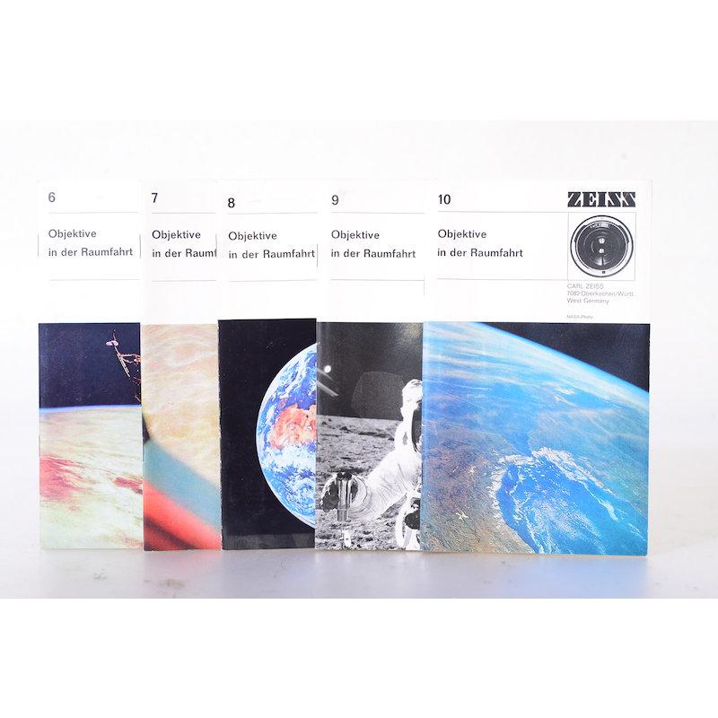 Zeiss-Ikon Prospekte Objektive in der Raumfahrt Band 6-10