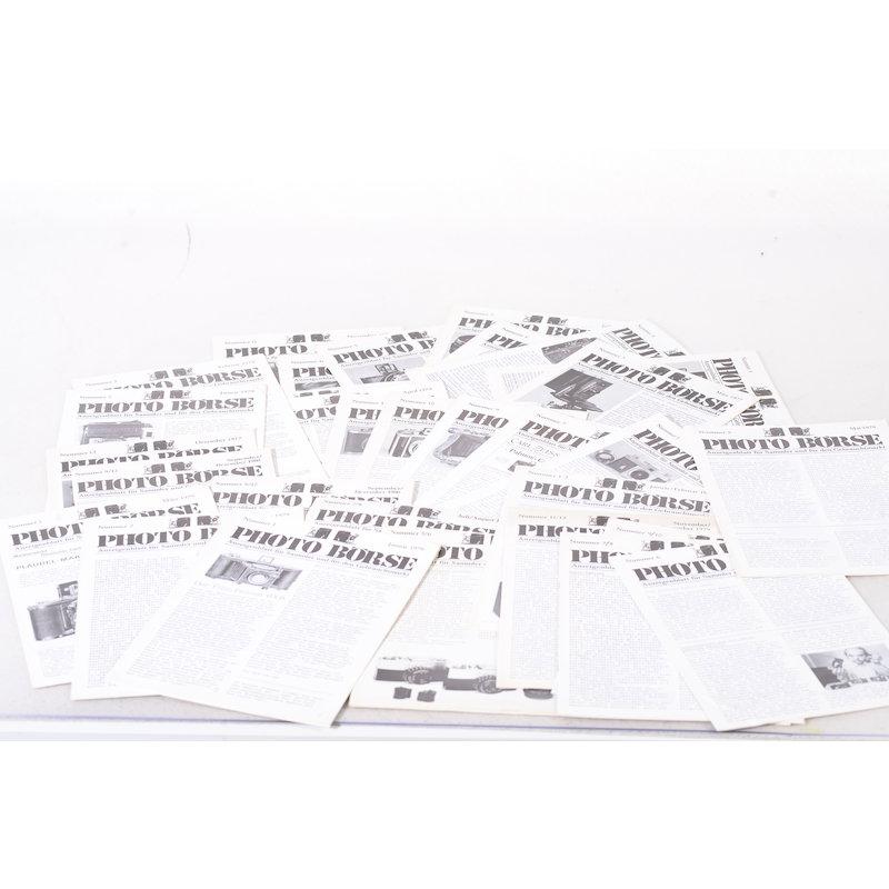 Photo Börse Diverse Ausgaben - Anzeigenblatt für Sammler und den Gebrauchtmarkt