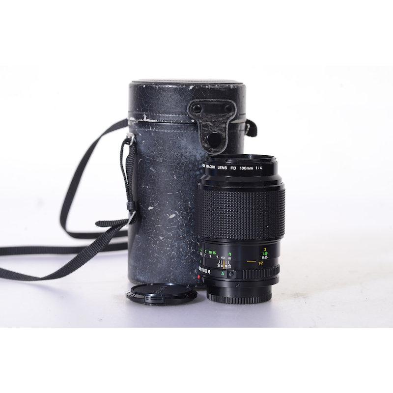 Canon FD 4,0/100 Makro