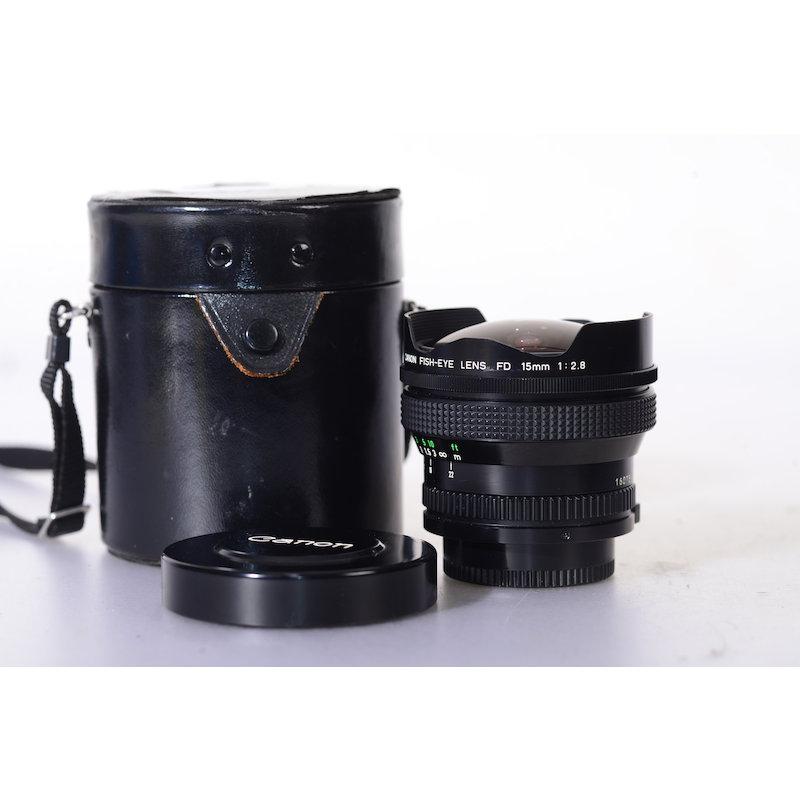Canon FD 2,8/15 Fisheye