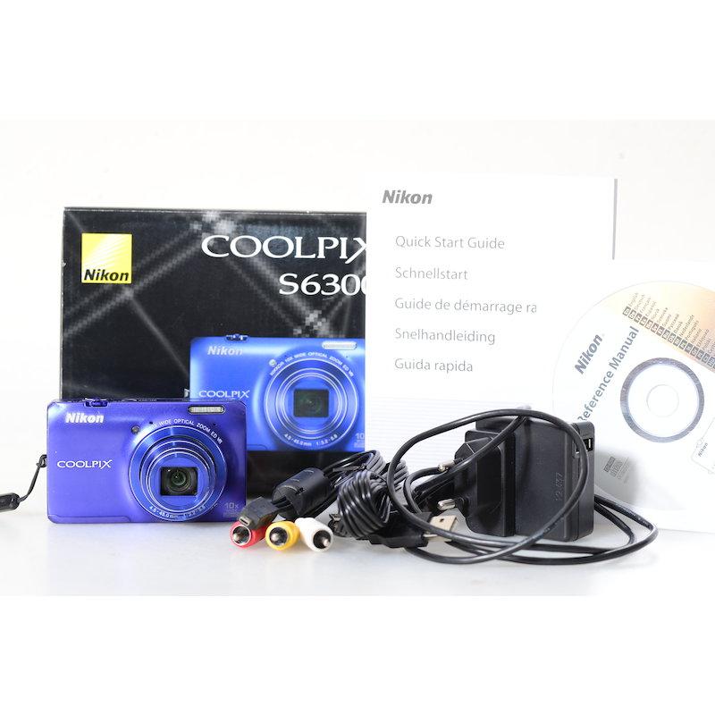Nikon Coolpix S6300 Blau
