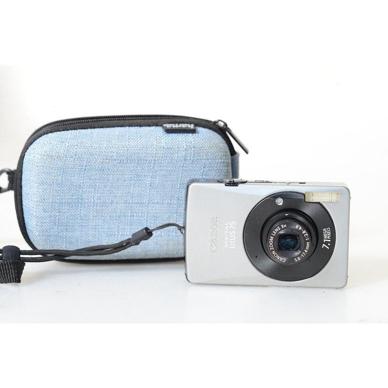 Canon Ixus Digital 75 Silber