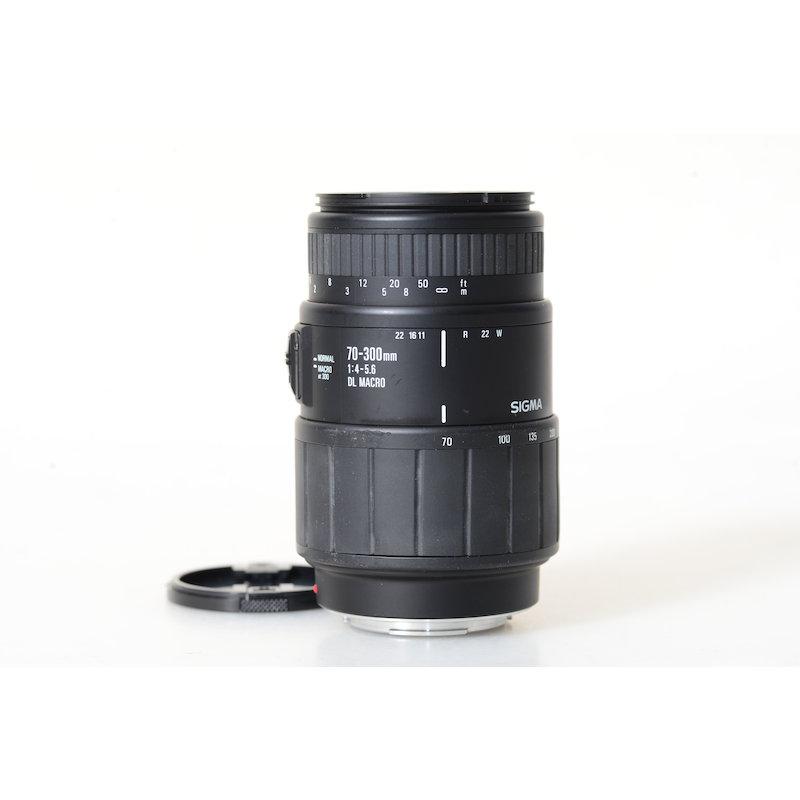 Sigma DL 4,0-5,6/70-300 Makro MI/AF
