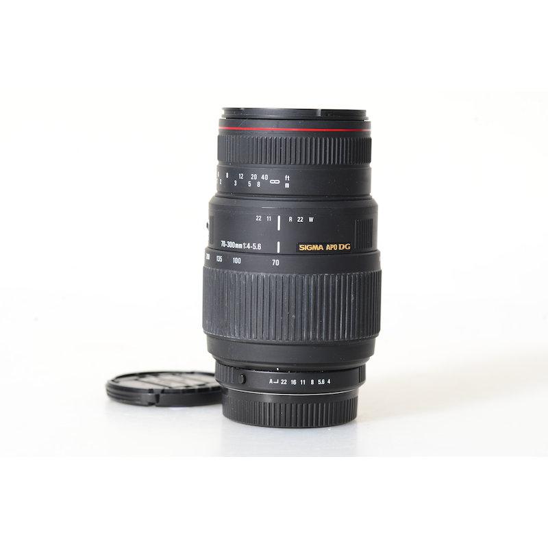 Sigma EX 4,0-5,6/70-300 APO DG Makro SA/KPR