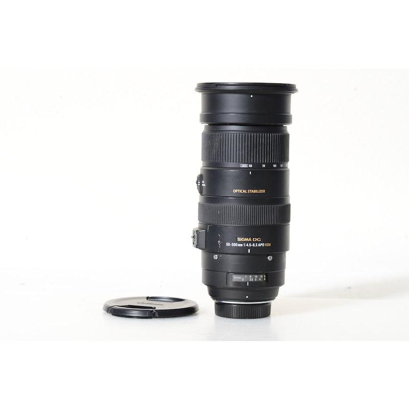 Sigma EX 4,5-6,3/50-500 APO DG HSM OS NI/AF D