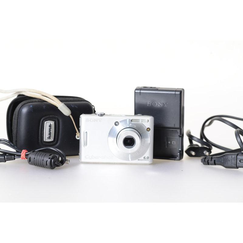 Sony Cyber-Shot DSC-W30 Silber