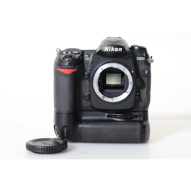 Nikon D200+Batteriegriff MB-D200