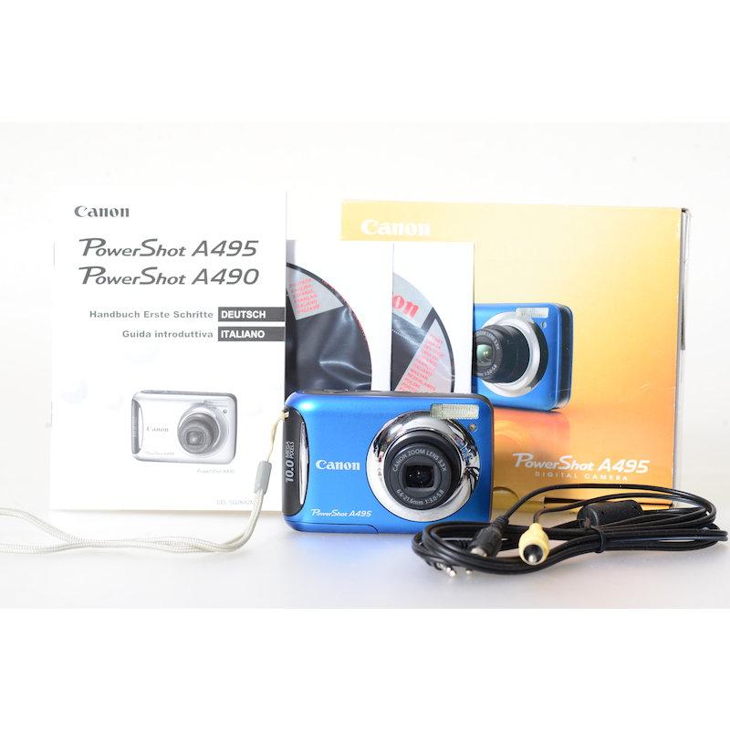 Canon Powershot A495 Blau