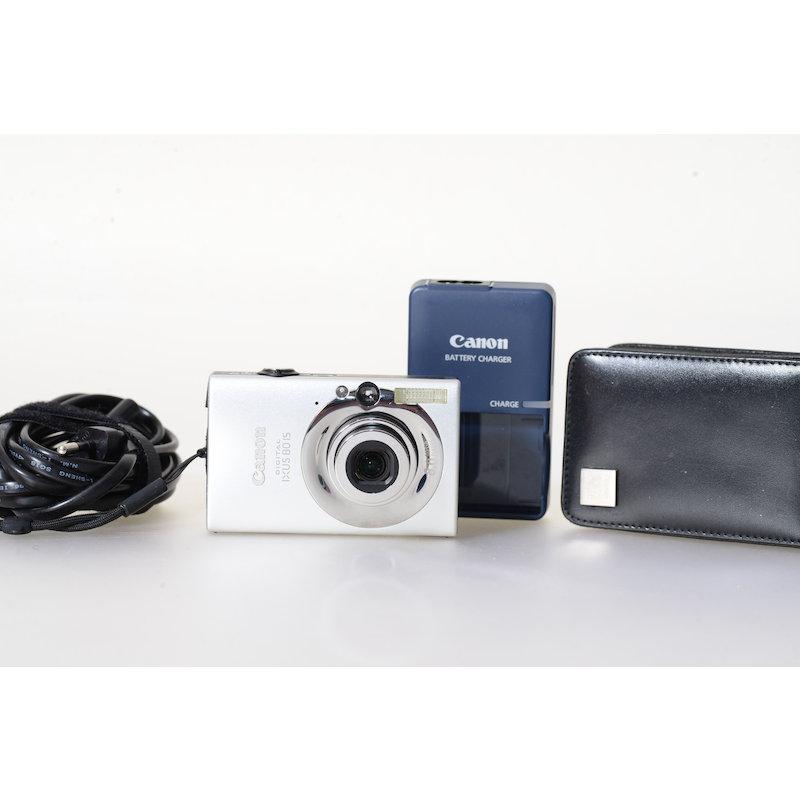 Canon Ixus 80 IS Silber