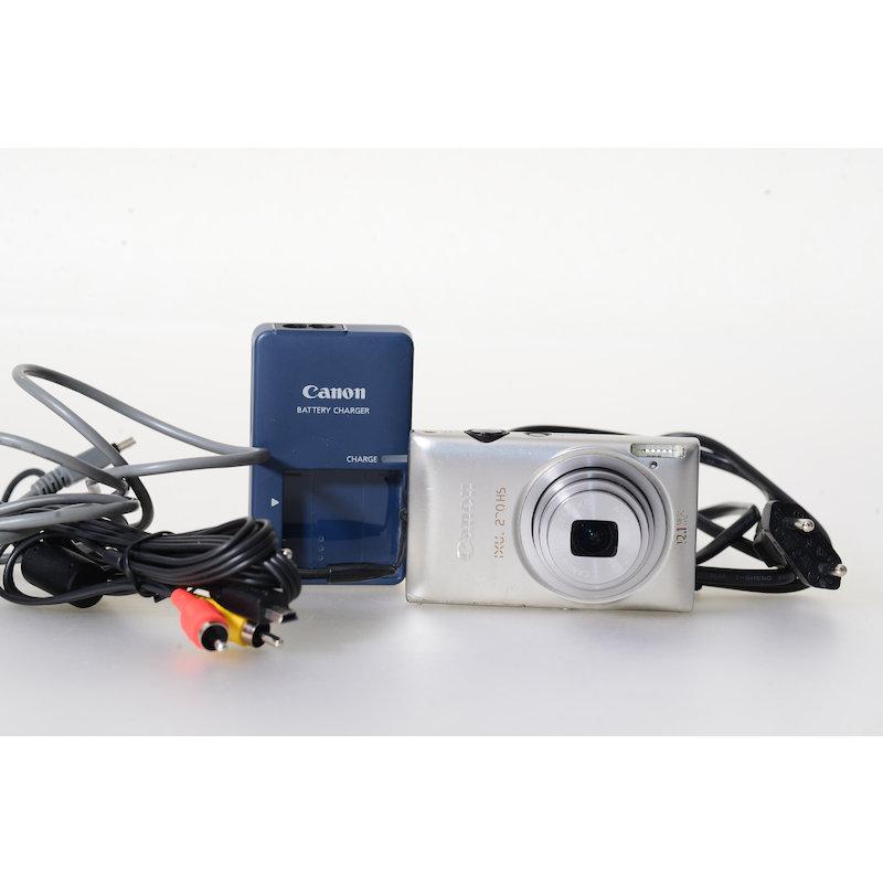 Canon Ixus 220 HS Silber