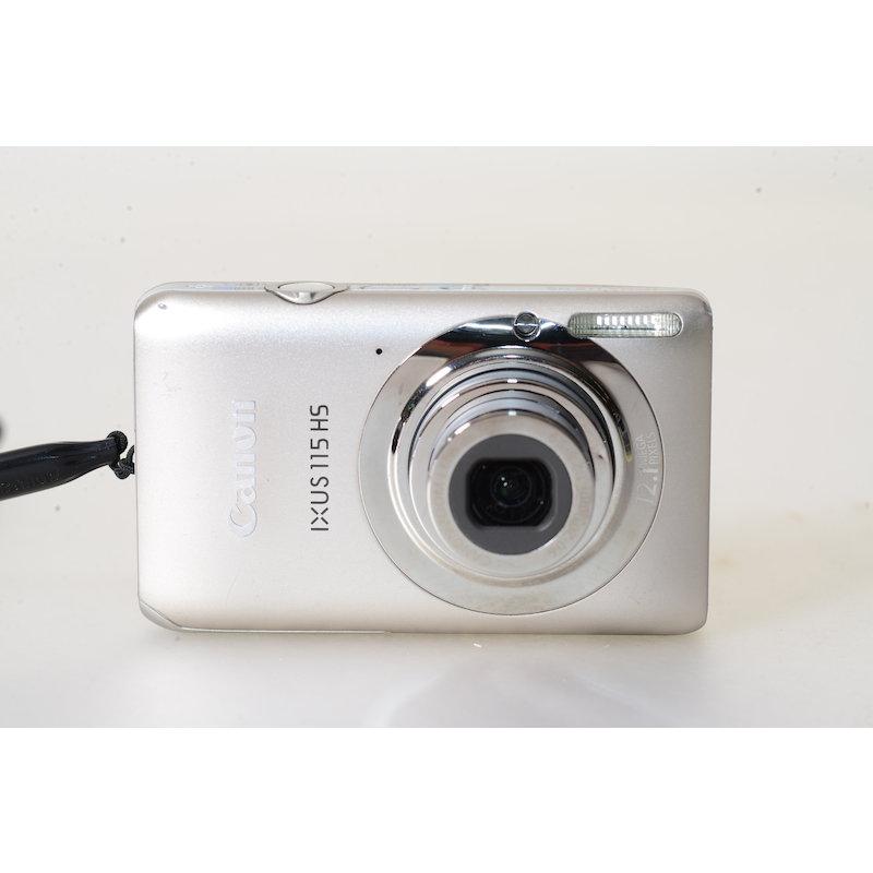Canon Ixus 115 HS Silber