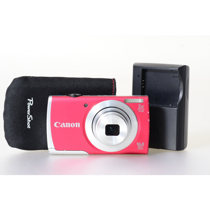 Canon Powershot A2600 Rot