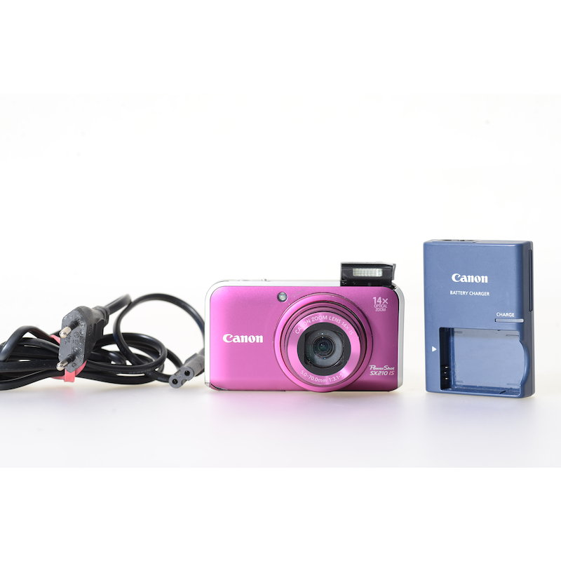 Canon Powershot SX210 IS Pink