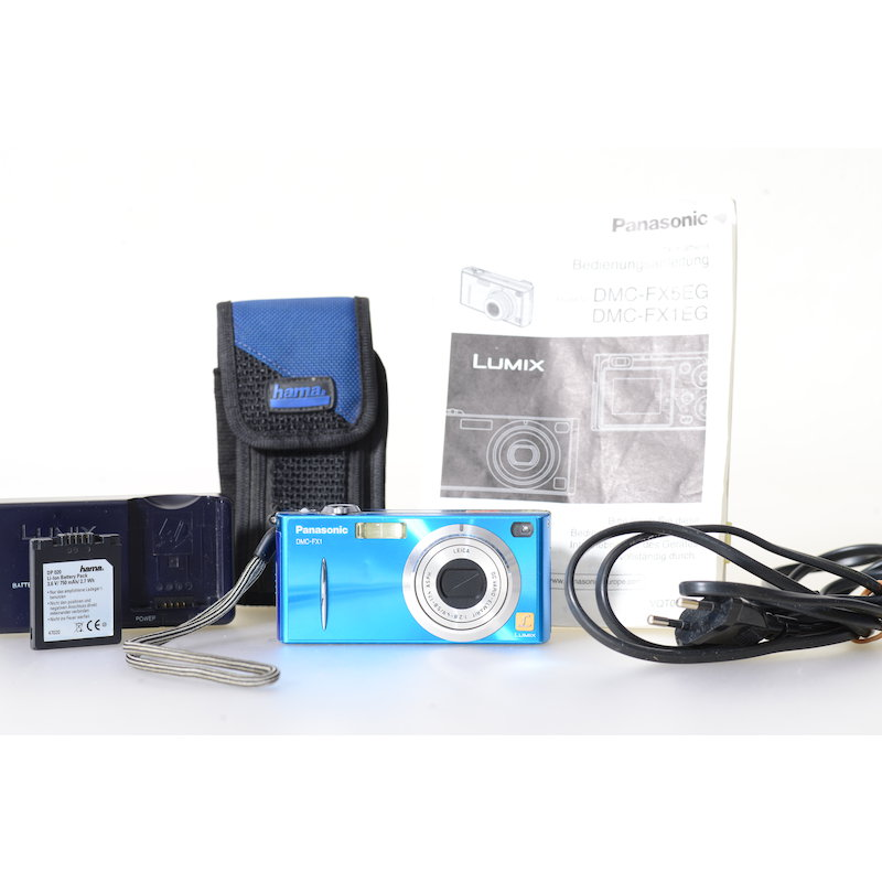 Panasonic Lumix DMC-FX1 Blau