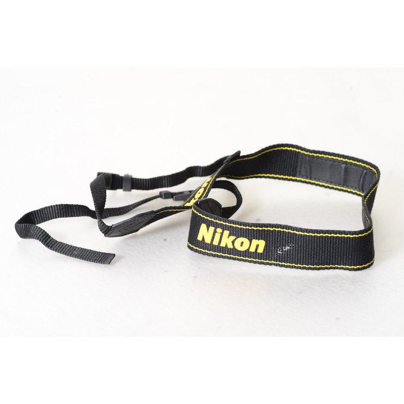 Nikon Trageriemen Gelb-Schwarz