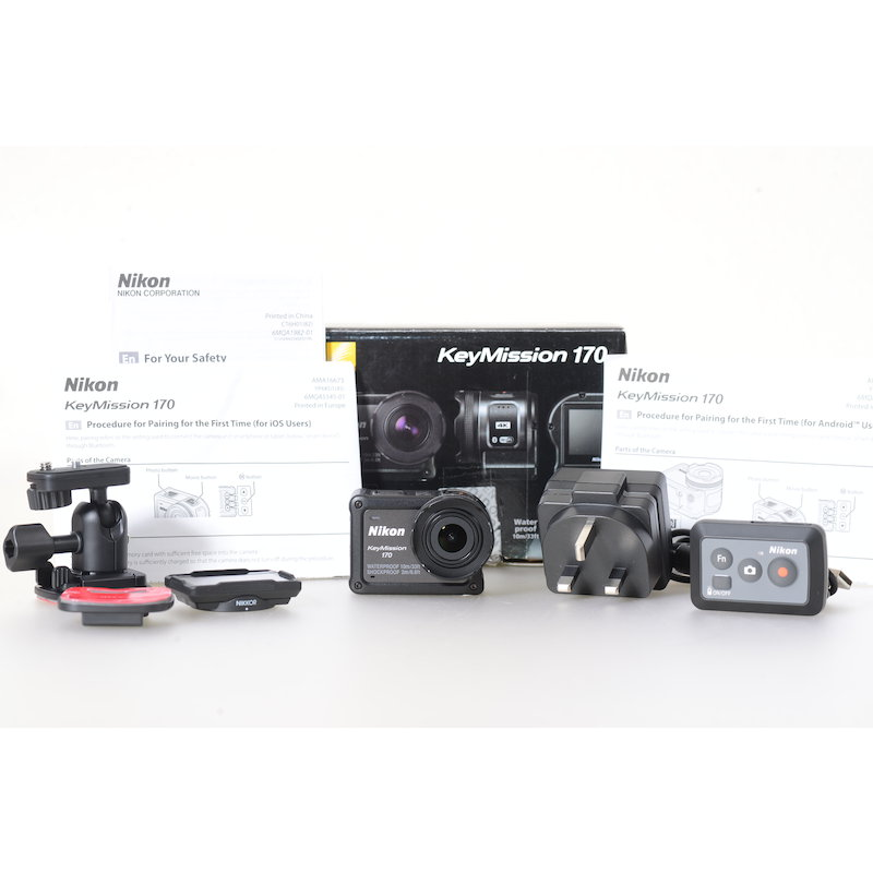 Nikon KeyMission 170 Actioncam