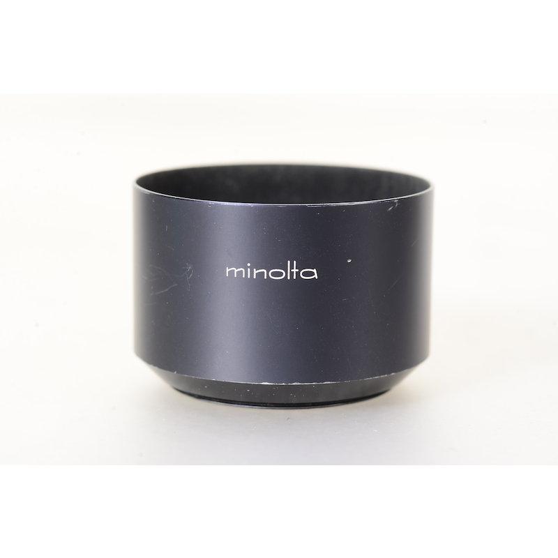 Minolta Geli.-Blende Metall E-55 MC 2,5/100