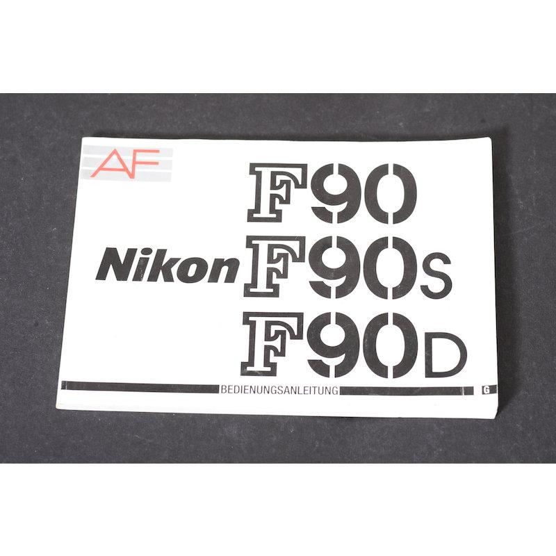Nikon Anleitung F90