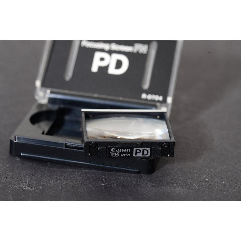 Canon Einstellscheibe Gitter PD F-1 New
