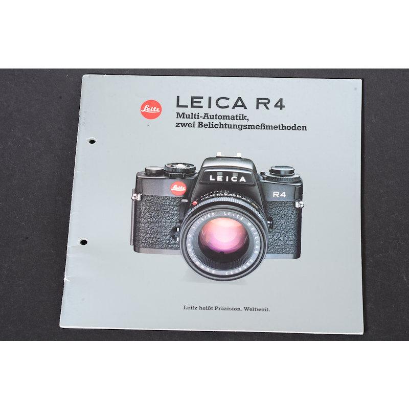 Leica Prospekt R4