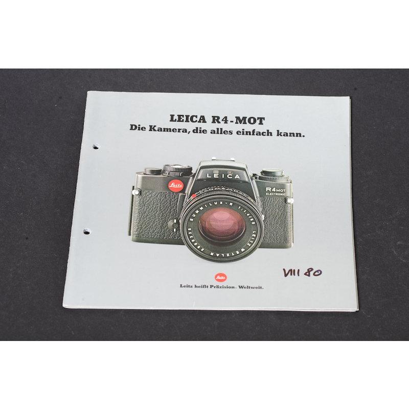 Leica Prospekt R4-MOT