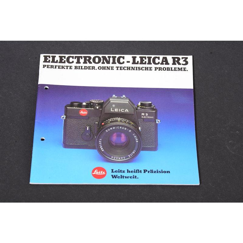 Leica Prospekt R3