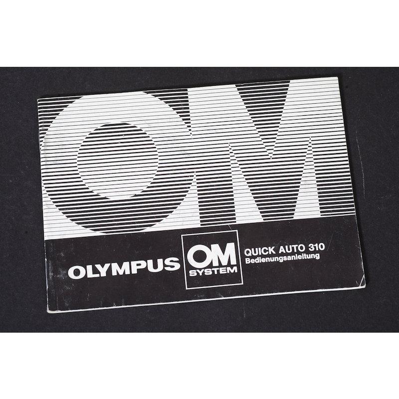 Olympus Anleitung Blitz Auto 310