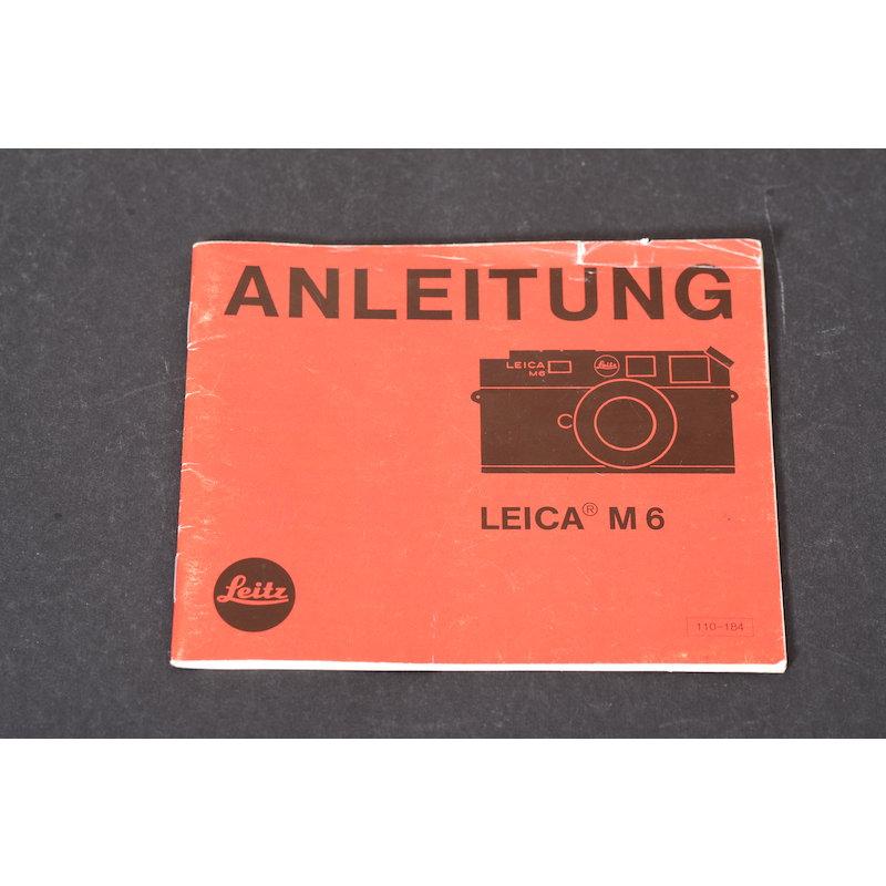 Leica Anleitung M6