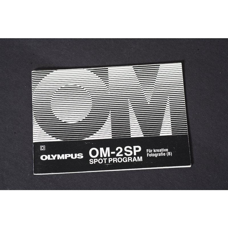Olympus Anleitung OM-2 SP für Kreative Fotografie (B)