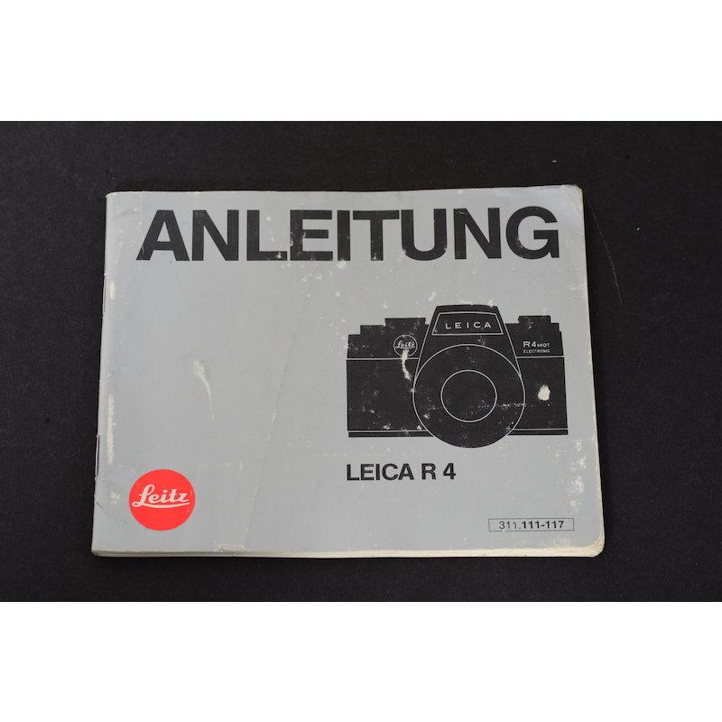 Leica Anleitung R4