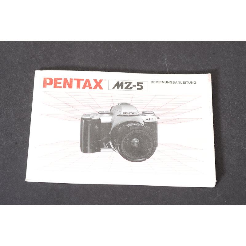 Pentax Anleitung MZ-5