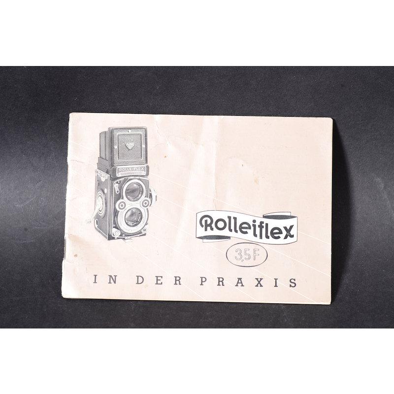 Rollei Anleitung Rolleiflex 3,5 F in der Praxis