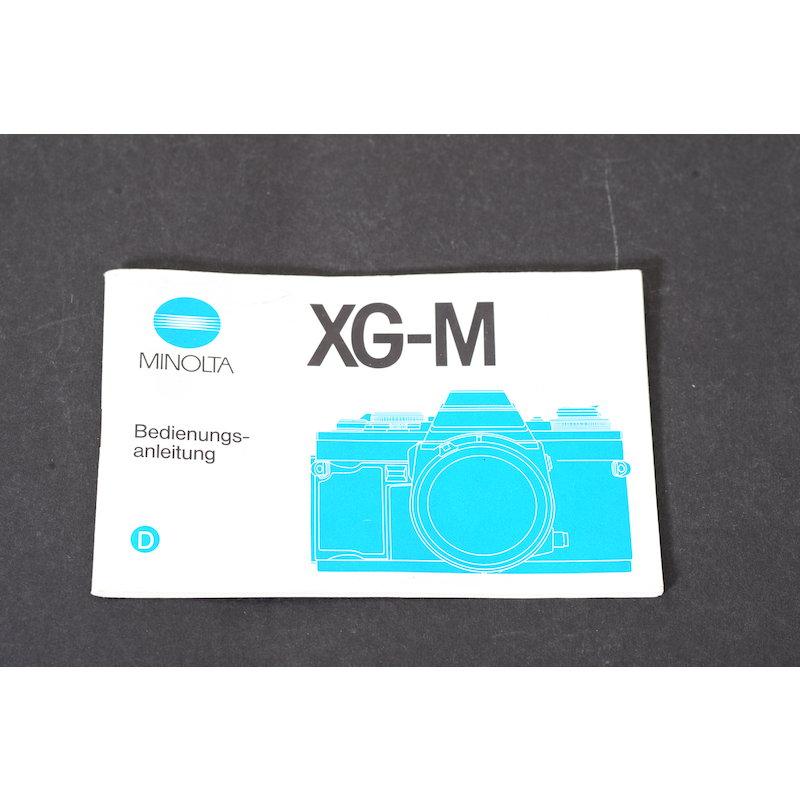 Minolta Anleitung XG-M