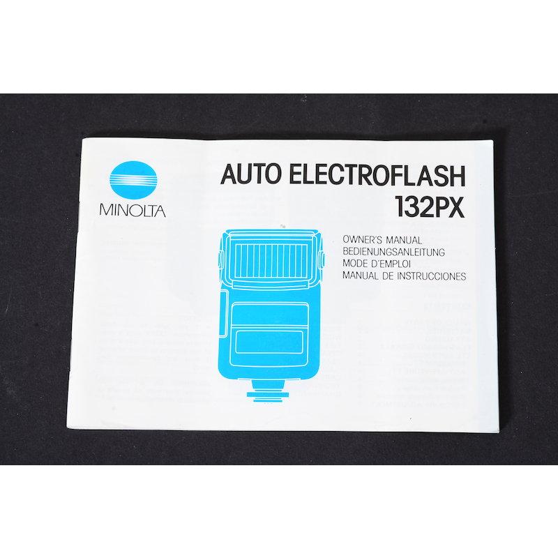 Minolta Anleitung Blitz Auto 132 PX