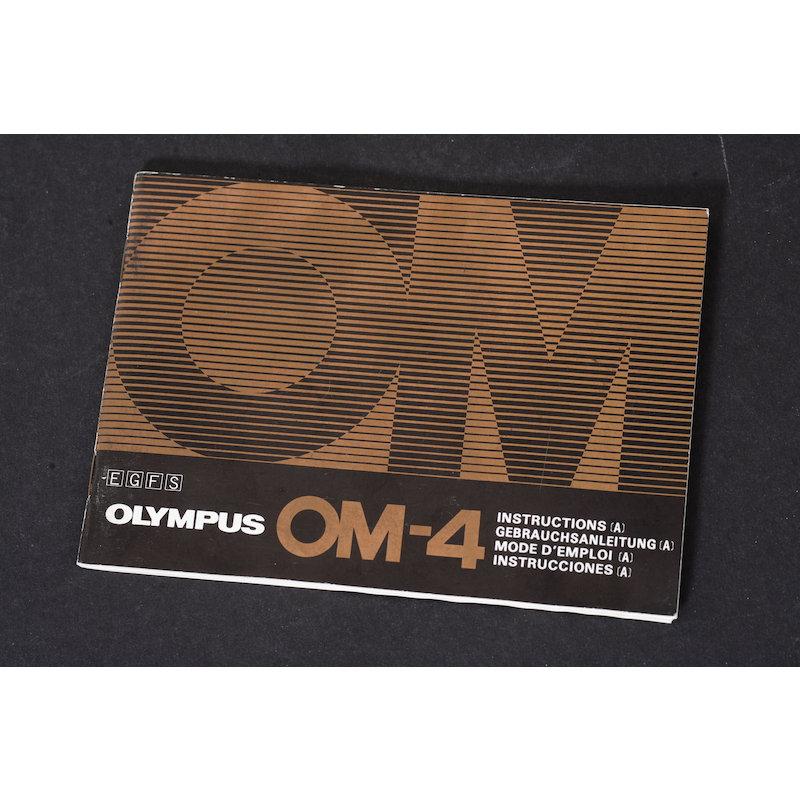 Olympus Anleitung OM-4