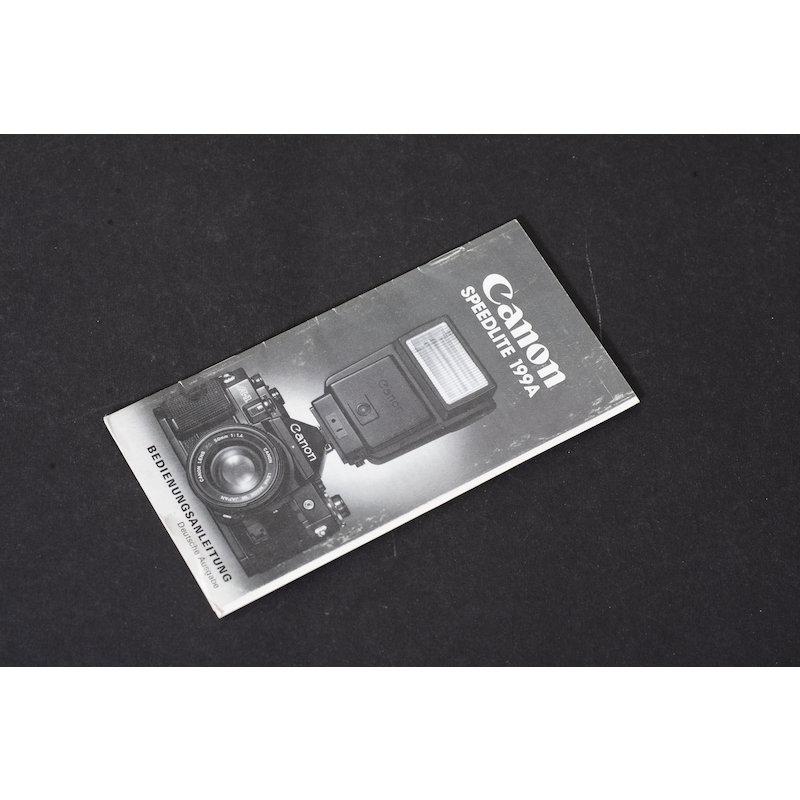 Canon Anleitung Speedlite 199A