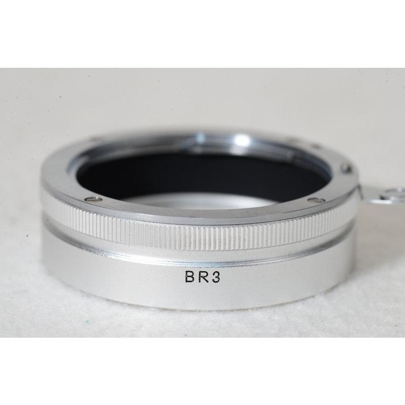 Nikon Makro Adapterring BR-3 Silber
