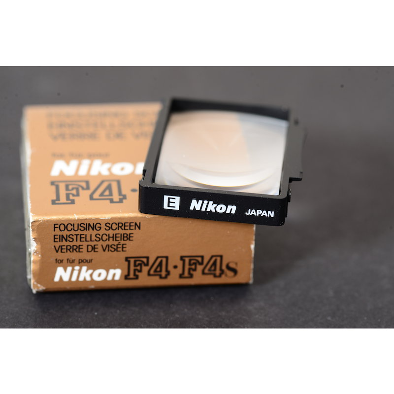 Nikon Einstellscheibe Gitter E F4