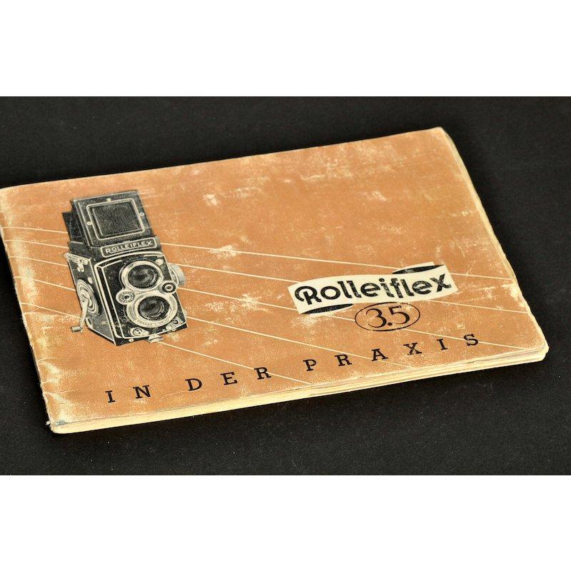 Rollei Anleitung Rolleiflex 3,5 in der Praxis
