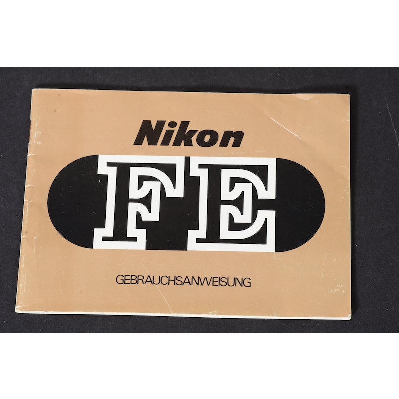 Nikon Anleitung FE