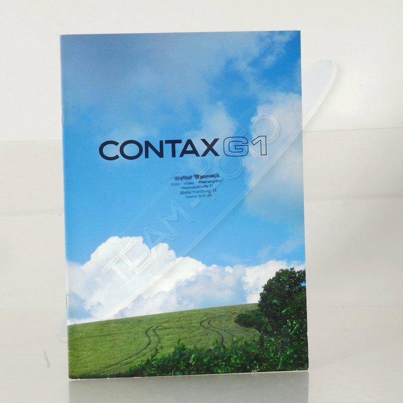 Contax Prospekt G1