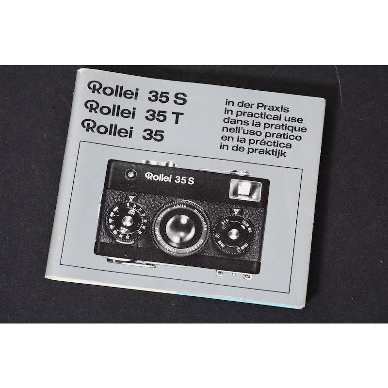 Rollei Anleitung 35 S/T in der Praxis