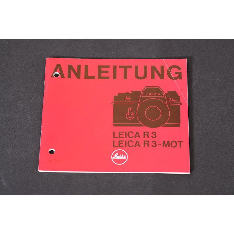 Leica Anleitung R-3 MOT
