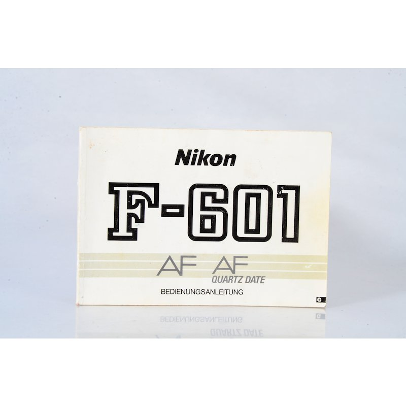 Nikon Anleitung F-601AF